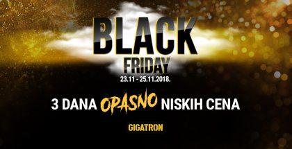 Black Friday popusti u Gigatronu - prilika za dobru kupovinu - 1